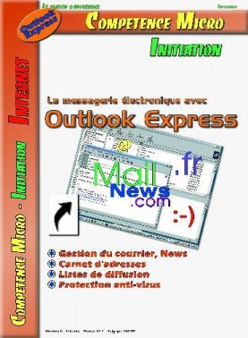 Booklet's front page - Outlook express(version 4 et 5)