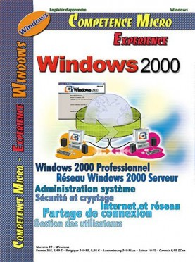 Booklet's front page - Windows 2000 vol.2