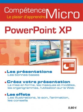 Booklet's front page - PowerPoint XP