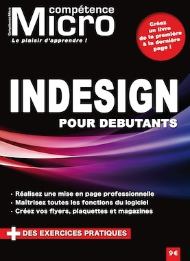 Booklet's front page - InDesign pour débutants