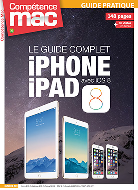 Booklet's front page - Compétence Mac 39 • Le guide complet iPhone iPad avec iOS 8
